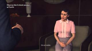 [L.A Noire] Let's Play #2 [FR] - Commençons les interrogatoires