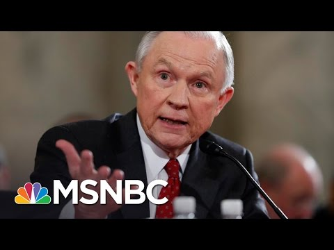 AG Jeff Sessions, Russian Ambassador Spoke During President Donald Trump's Campaign | MSNBC