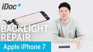 iPhone 7 - Backlight, Home button, 3D touch repair