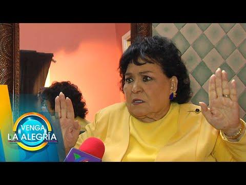 Carmen Salinas habla sobre polémicos mensajes de Paty Navidad en redes. | Venga La Alegría