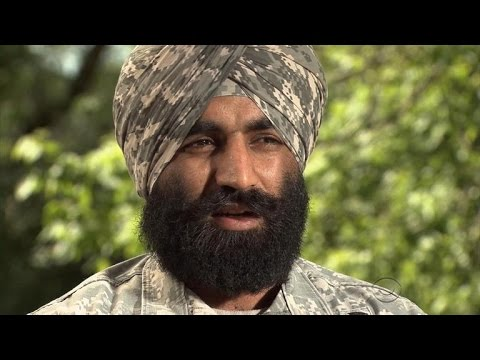 Sikh American Soldier On What The Army Means To Him