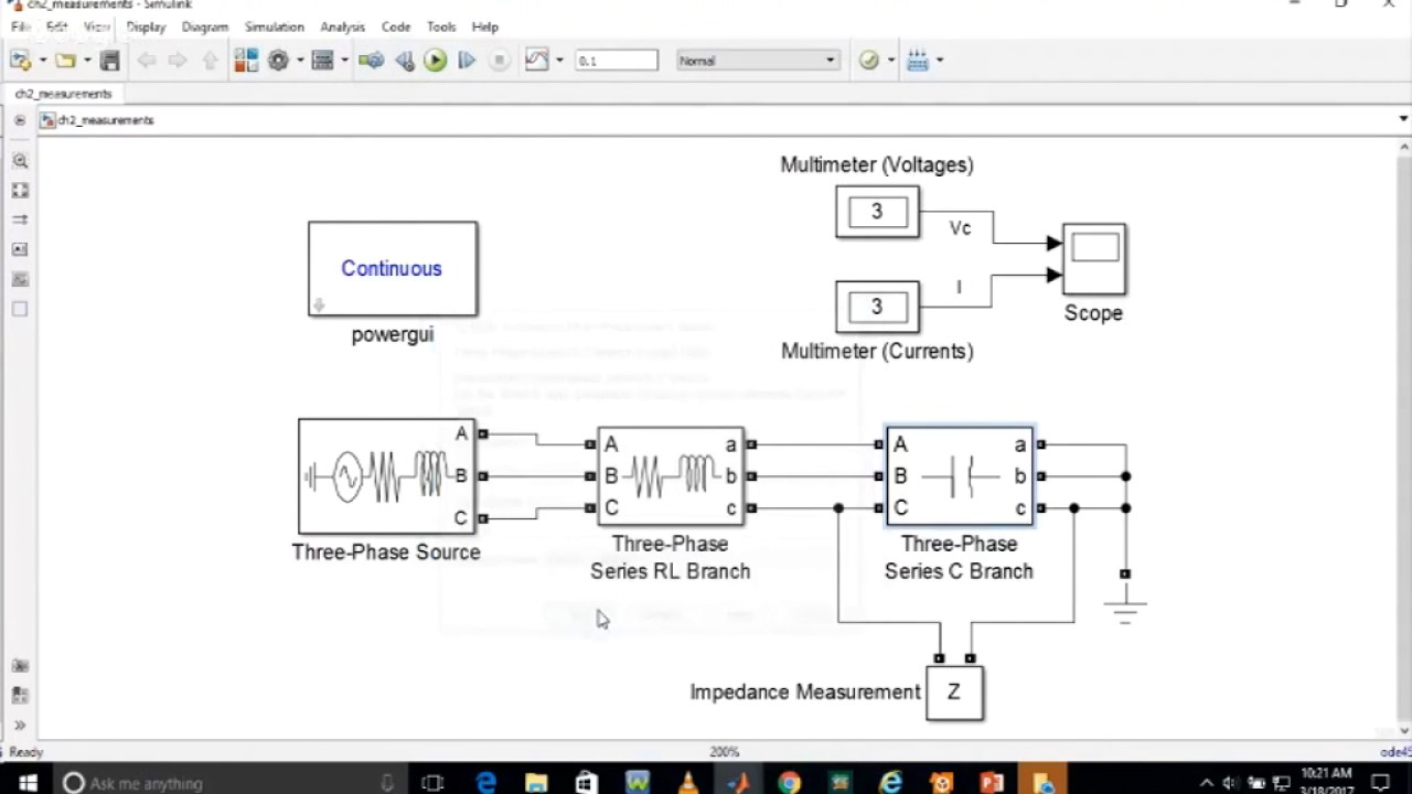Matlab Simulation Of Electrical Power System By Mr Kuldeep Singh Home Wiring Circuit Simulator