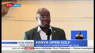 Kenyan Open Golf partners with Ministry Tourism to promote the sport
