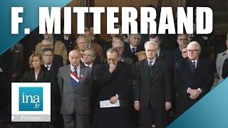 Obsèques à Notre Dame de François Mitterrand