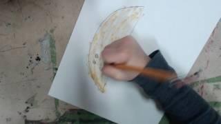 HamBurglar draws a Hamburger Scorpion