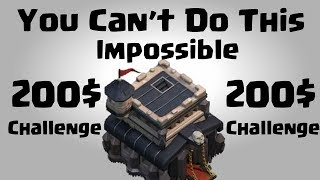200$ Challenge Impossible to 3 Star TH9   Best TH9 War   Clash Of Clans INDIA