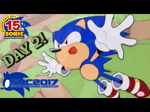 The Sonic Hacking Contest 2017 Livestream! (Day 2)
