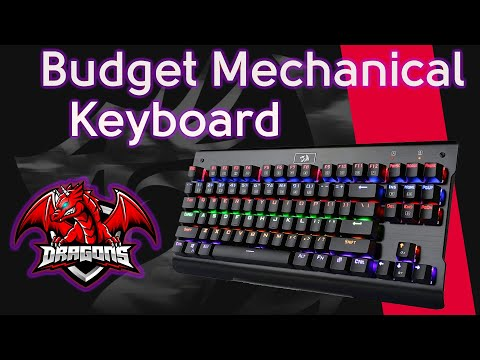 368dd68c170 Redragon Visnu K561-R Waterproof Mechanical Gaming Keyboard - YouTube