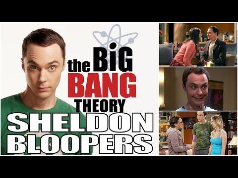 The Big Bang Theory Sheldon Bloopers