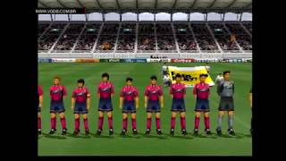 J. League Jikkyou Winning Eleven 2000 (gameplay) - Sony Playstation - VGDB