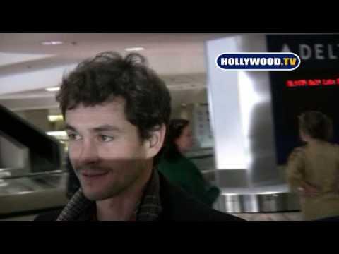 Claire Danes & New Boyfriend Hugh Dancy Return From Sundance