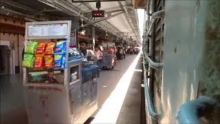 Arriving at Sawai Madhopur : Mumbai Jaipur Superfast Exp.