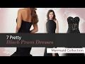 7 Pretty Black Prom Dresses Mermaid Collection