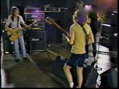 AC/DC - Messin' With The Kid - Rehearsals [Los Angeles 1983]