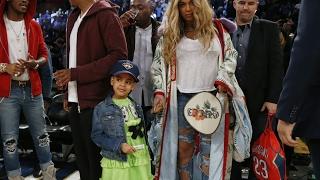 Dochter Beyoncé vertoont divagedrag