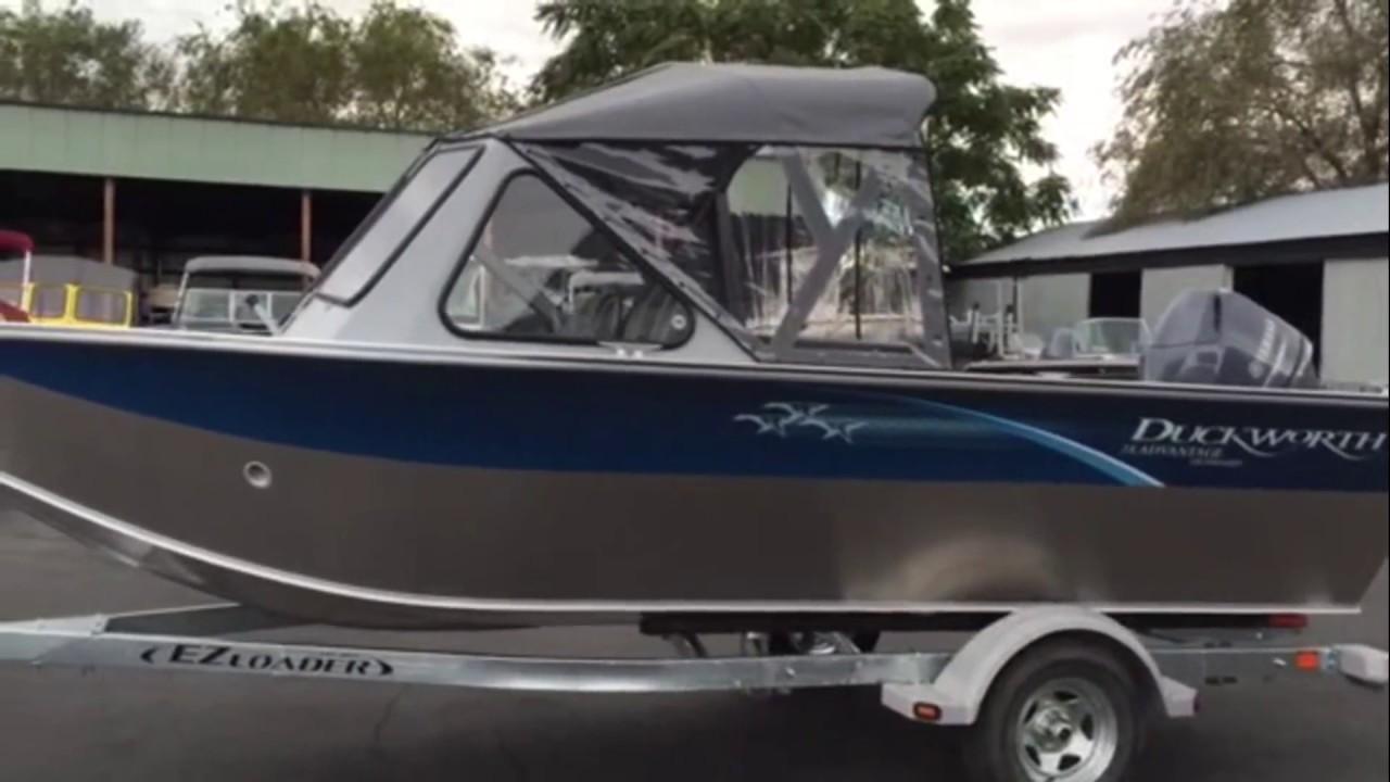 2016 Duckworth 18 Advantage- Great affordable Northwest built boat