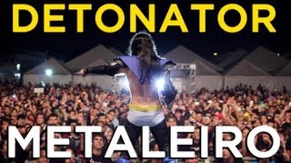 METALEIRO - DETONATOR E AS MUSAS DO METAL (CLIPE OFICIAL)