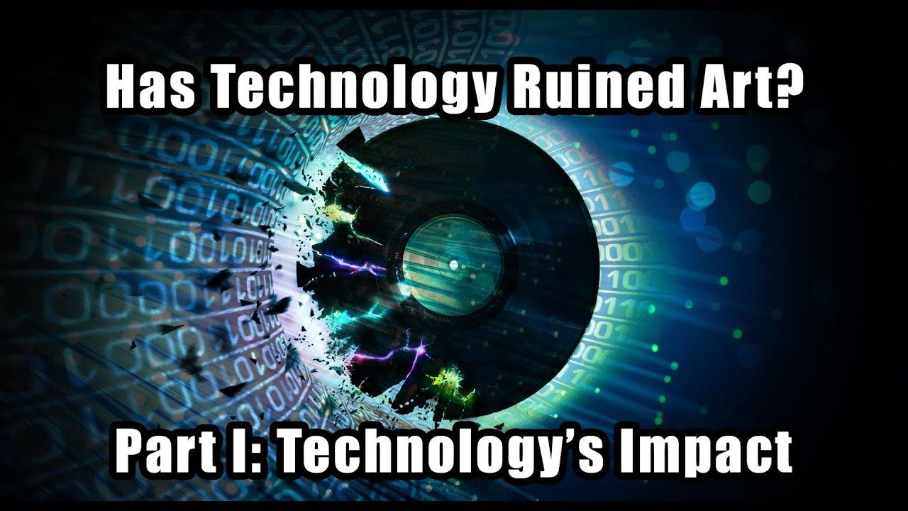 impact of technology on art
