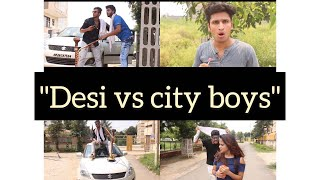 Desi vs city kids- Elvish yadav