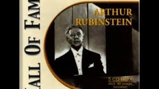 HALL OF FAME - Artur Rubinstein (5 CDs) - CD 3