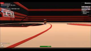 ROBLOX- Practice Game T1 VS T2 Basketball