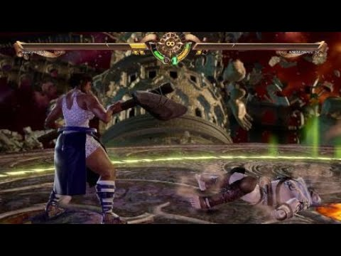 SOULCALIBUR™Ⅵ_ Ancient Astoroth style enemy vs my Astoroth style character