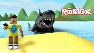 Roblox Shark Bite ! || Roblox Gameplay || Konas2002