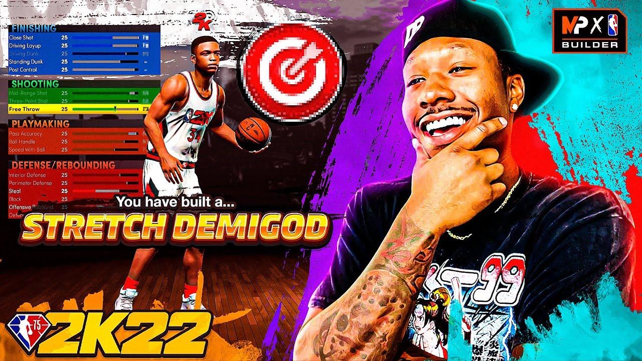 PlayTube Gaming: Duke Dennis OFFICIAL NBA 2K22 BUILD [Best Stretch Big Build]