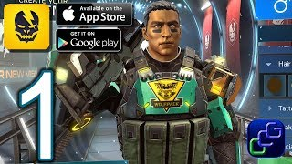 SHADOWGUN Legends Android iOS Walkthrough - Gameplay Part 1 - Campaign: Echoes From The Past