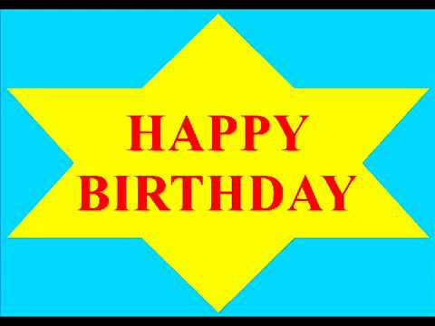 Happy Birthday to you song :-)May all your dreams and wishes come true!