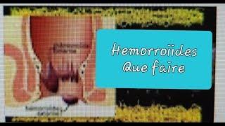 452 HEMORROIDES CE QU'ON VOUS DIT JAMAIS DÉMANGEAISON ANUS  CONSTIPATION COLOPATHIE BIEN-ÊTRE SANTÉ
