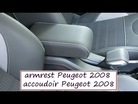 peugeot 2008 premium armrest total made in italy mittelarmlehne accoudoir youtube. Black Bedroom Furniture Sets. Home Design Ideas