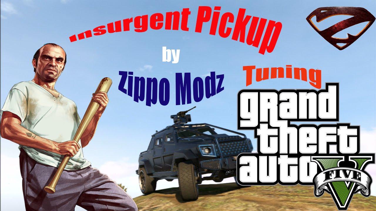 gta5 insurgent pickup tuning ps3 youtube