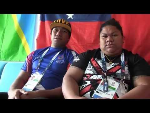 Samoan Opeloge Family Reflect on Glasgow 2014 - Mary, Ele & Tovia