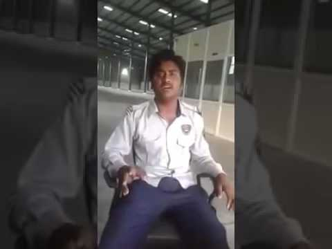GUJARATI SONG BY SECURITY GUARD TALEND OF GUJARAT