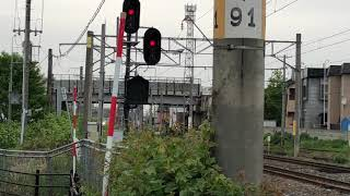 奥羽本線E751系A-101編成特急つがる6号秋田行き2046M