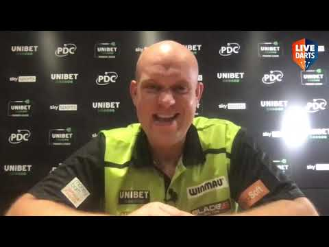 """Michael van Gerwen on beating Wright: """"Peter played crap but a win over him is always nice"""""""
