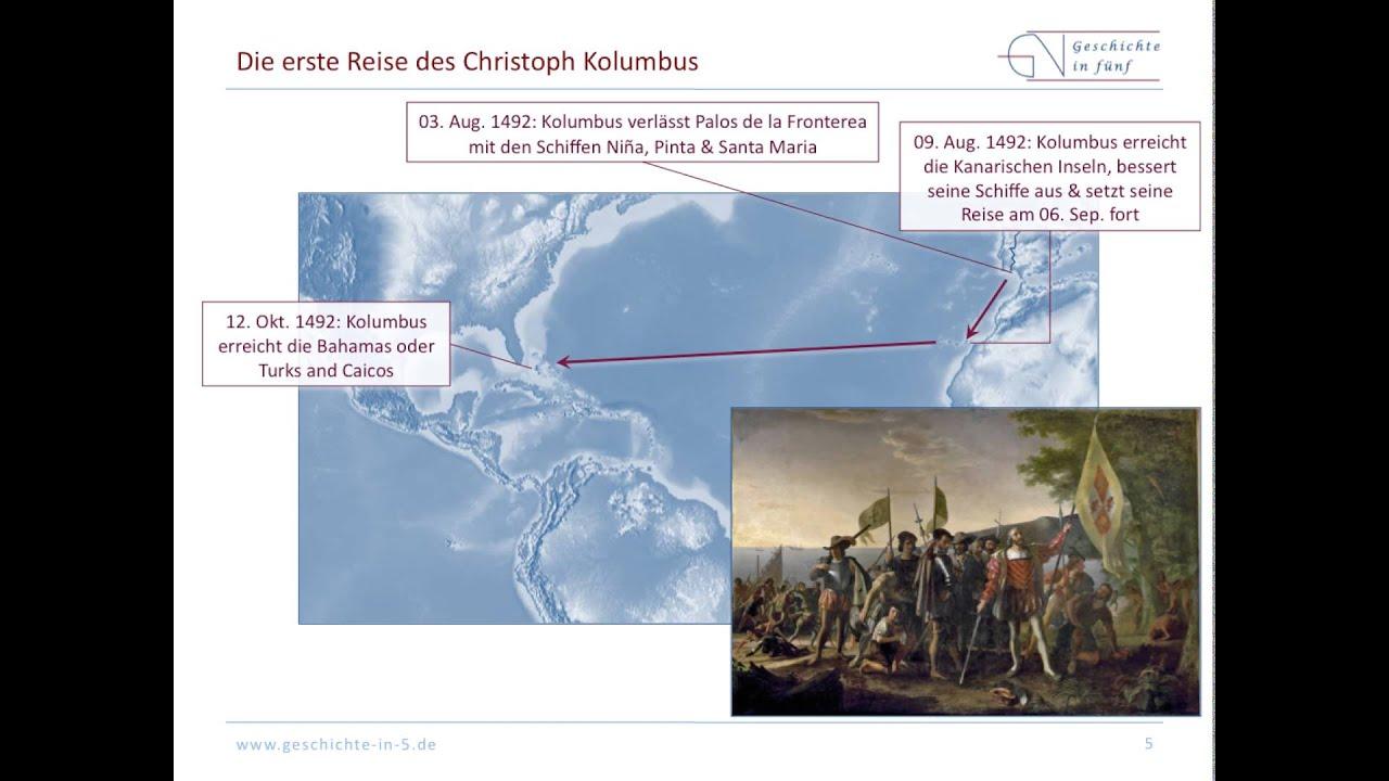Atemberaubend Die Reisen des Christoph Kolumbus - YouTube &VT_48