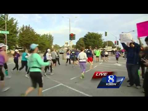 Alan Sanchez reports from Big Sur Half Marathon on Monterey Bay