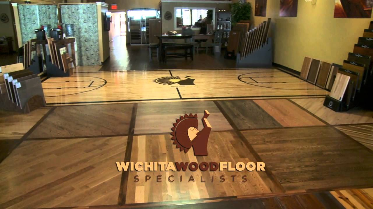 Wichita wood floor specialists youtube for Wichita wood flooring
