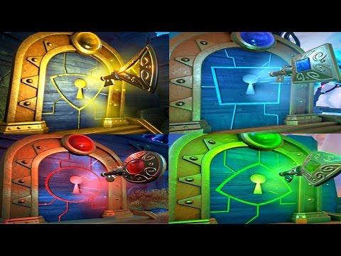 PVZ Garden Warfare 2: ALL 4 TRIALS OF GNOMUS Challenges Guide! (RED,BLUE,GREEN,YELLOW)