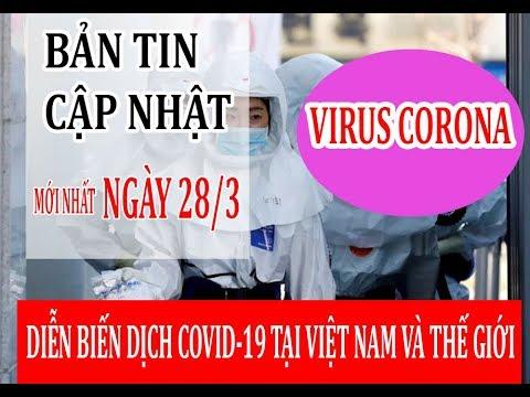 Cập nhật tình hình dịch virus corona ngày 28/3: Việt Nam có ca bệnh thứ 169