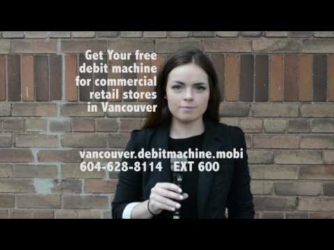 Get Your free debit machine for Vancouver commercial retail stores