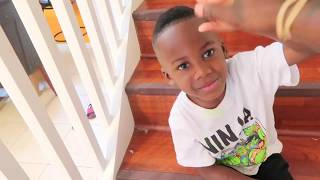 Home Alone Prank On 4yr Old