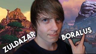 Zwiedzanie nowych głównych miast - Boralus i Zuldazar!