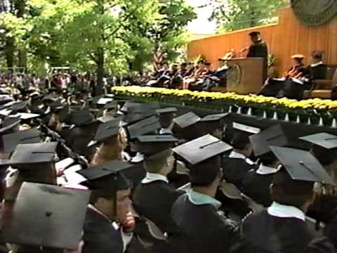 More Coverage of 1993 DePauw Commencement Address by Vernon Jordan