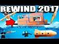 PAPA JAKE YOUTUBE REWIND 2017!! 🔥 Box Forts, Nerf, Toys & More!