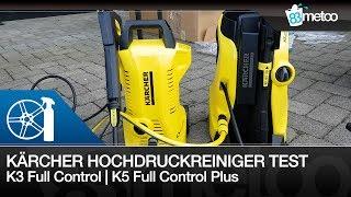 Auto waschen mit Kärcher Hochdruckreiniger Test   K3 Full Control   Kärcher K5 Full Control Plus