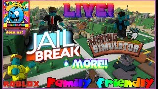 Roblox #22   PLAYING WITH VIEWERS!   LIVE   (sjk livestreams #205)