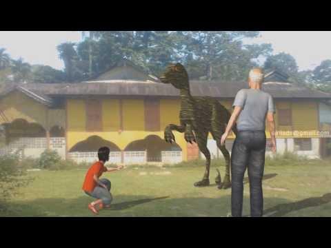 Dinosaur in Sungai Bayor Selama Perak Malaysia